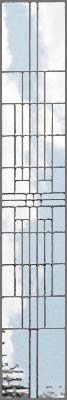 leaded glass sidelight bevel window