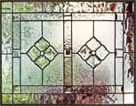 C1P custom leaded beveled glass window