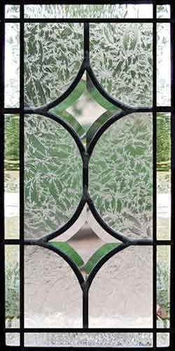 beveled glass stars leaded glass sidelight window