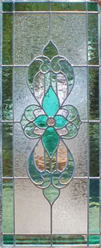 Custom Leaded Stained Glass sb34scolor Victorian style window