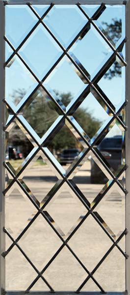 all beveled diamonds window