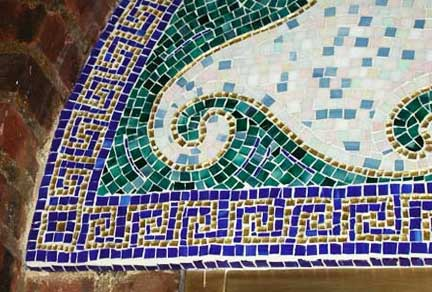 fountain mosaic