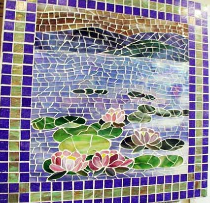 waterlilies Mosaic