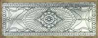Custom leaded glass Victorian style arch transom window